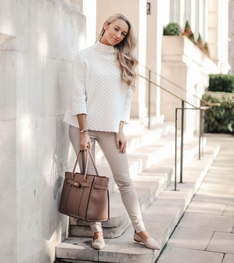 "3,900 Likes, 73 Comments - Josie // Fashion Mumblr (@josieldn) on Instagram: ""Sticking to my signature style for #LFW today  Wearing a neutral blush colour palette & completing…"""
