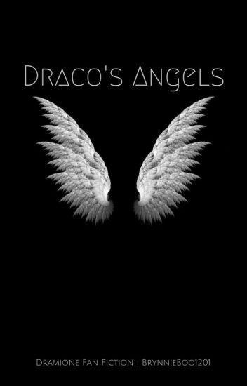 Draco S Angels Draco Angel Black Wallpaper