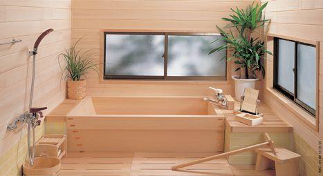 FURO-OKE, l\'authentique baignoire japonaise en bois | KITOKI ...