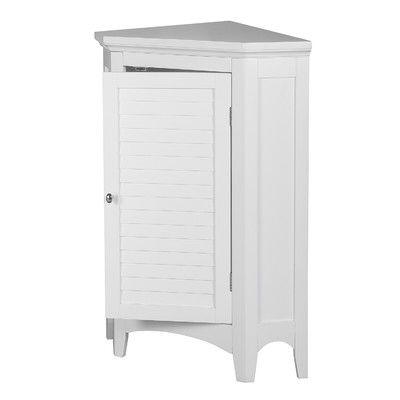Broadview Park 24 75 W X 32 H X 17 D Free Standing Bathroom Cabinet Elegant Home Fashions Corner Storage Cabinet Bathroom Standing Cabinet