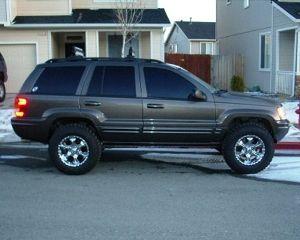 Jeep Grand Cherokee Wj 2 Coil Spring Suspension Lift Kit 1999