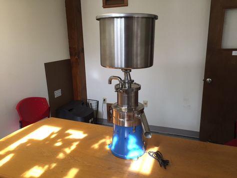 500L Cream Separator - Stainless Steel