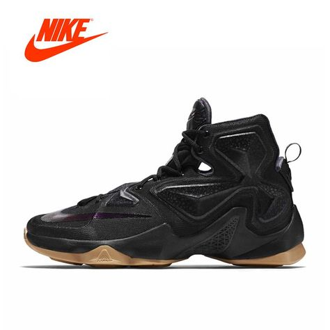 2fe71a271ed Original New Arrival Authentic Nike Men s LEBRON EP LBJ 13 High Top  Breathable Cool Basketball Shoes Sports Sneakers