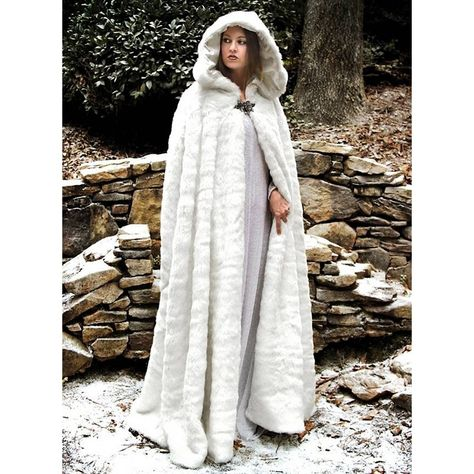 White Cloak, White Cape, Mantel Trenchcoat, Gothic Mode, Hooded Cloak, Fur Cape, Medieval Costume, Medieval Cloak, Medieval Clothing