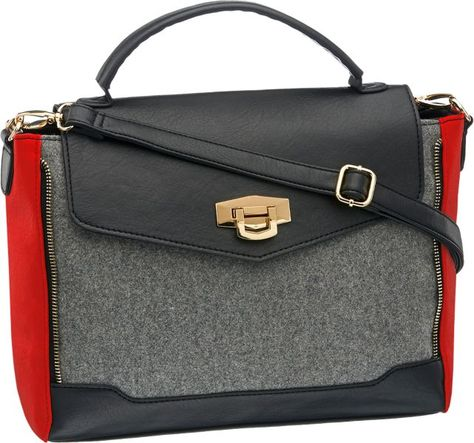 7f93ce0ef9510 Deichmann bag .. maybe with red pumps a great eyecatcher for spring ...