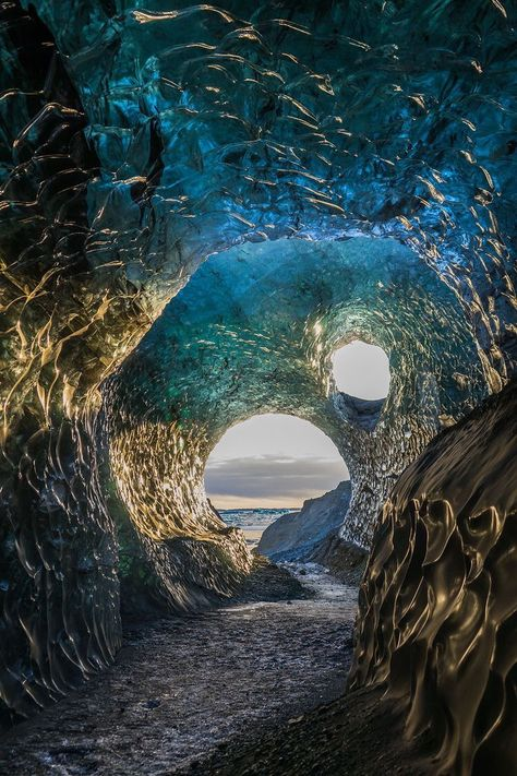 Everything you need to know about ice cave tours in Iceland Tours In Iceland, Iceland Travel Tips, Travel Guide, Nature Photography, Travel Photography, Waterfalls Photography, Landscape Photography, Cave Tours, Amazing Nature