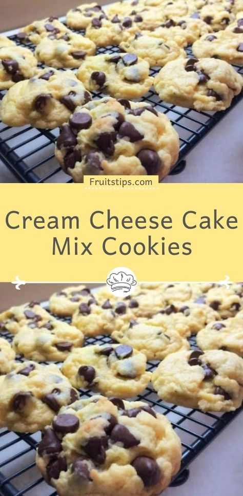 You will need 1 box cake mix any flavor 8 oz cream cheese room temperature 1 4 c butter room temperature 1 large egg oreo cookies recipe! these 4 ingredient cake mix cookies are such a fun delicious addition to your dessert menu! Cake Mix Desserts, Cake Mix Cookie Recipes, Just Desserts, Dessert Recipes, Keto Recipes, Box Cake Recipes, Recipes Using Cake Mix, Dishes Recipes, Soup Recipes