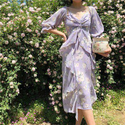 Blue Layered Silk Dress Light Blue Dress Fairy Dress Silk Dress Layered Dress Fairycore Dress Flowy Dress Blue Sun Dress Blue Fairy Costume