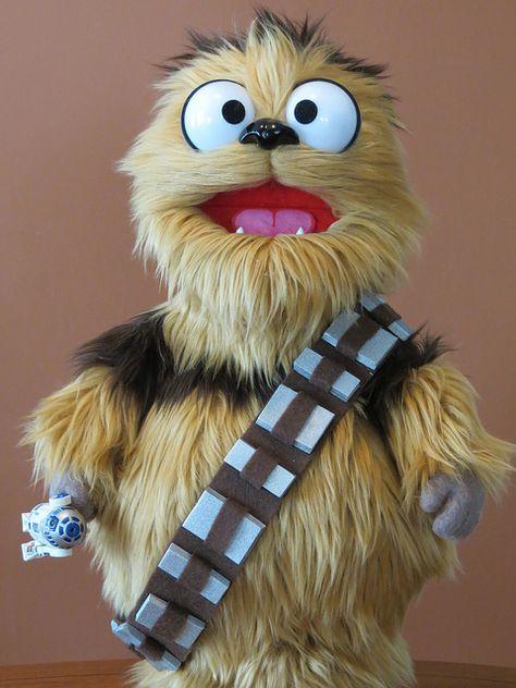 Baby Puppets ChewbaccaPuppet Fun professionaliburattini a mano WH29DEI
