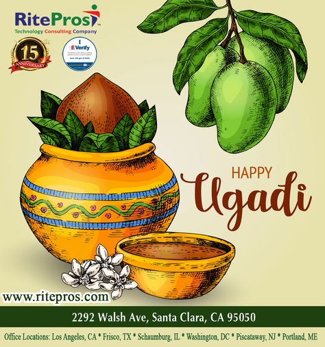 Happy Ugadi Stay Home Stay Safe In 2020 Technology Consulting Stay Safe Santa Clara