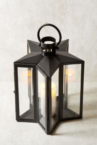 Buy Star Lantern From The Next Uk Online Shop Star Lanterns Indoor Outdoor Lighting Outdoor Lighting