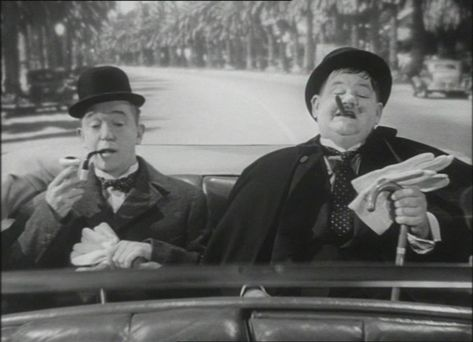 Laurel and Hardy : Chump At Oxford - Now you have that Friday