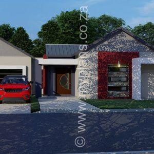 3 Bedroom House Plan Mlb 047 9s My Building Plans South Africa House Plan Gallery Bedroom House Plans Family House Plans