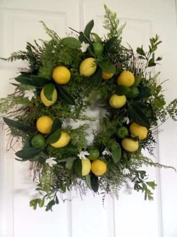 Made with lemons and limes.  @Gail's Decorative Touch