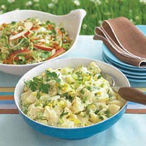 Old Fashioned Creamy Potato Salad Recipe