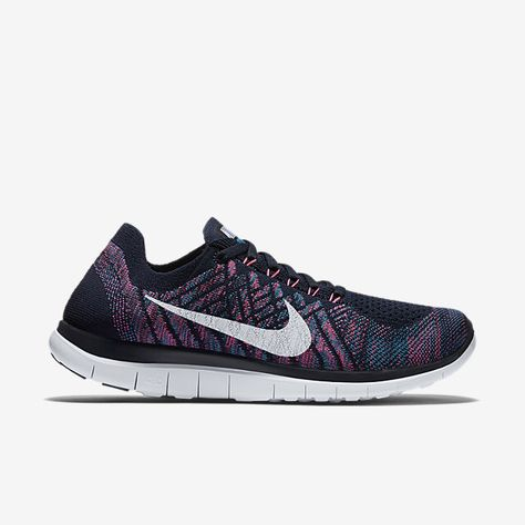 This Nike Free Flyknit 4.0 Black/White look so simple. Want it badly.    Death by Nike   Pinterest   Nike free flyknit