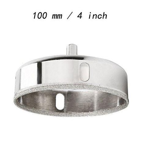 Vzer 100 Mm Diamant Scie Cloche Pour Carrelage En Ceramique En