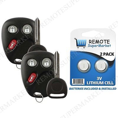 Replacement For 2003 2004 2005 2006 Chevy Silverado Remote Car Key Fob Set Pair 2006 Chevy Silverado Chevy Trailblazer Chevy Silverado
