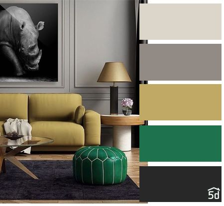 Color Balance Interior Ideas Color Palette Living Room Interior Yellow And Green Gray Color Palette Living Room Color Palette Living Room Living Room Green