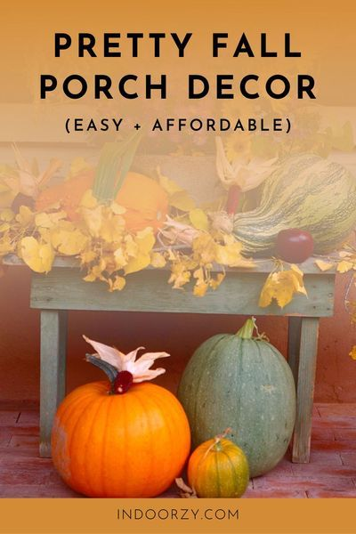 Pretty Affordable Fall Decorating Ideas For The Porch Door Mums Simple Diy Wreaths Do Fall Decorations Porch Fall Door Decorations Fall Thanksgiving Decor