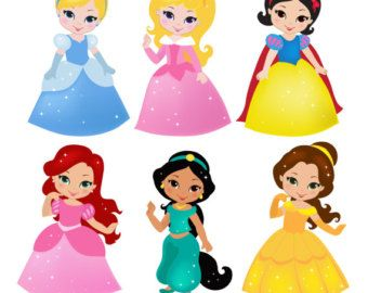 princess 02 digital clipart cute princess by sandydigitalart rh pinterest com princess crown clipart free download disney princess clipart free