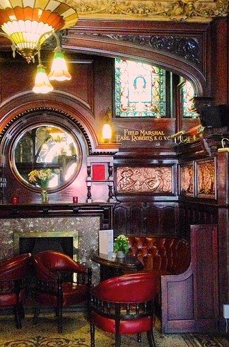 15 British Pubs Where You'll Have The Best Night Of Your Life Impressive Philharmonic Dining Rooms Liverpool Design Decoration