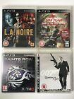 PS3 Games-007 Quantum Of SolaceDead IslandL.A.NoireSaints Row The Third -(787