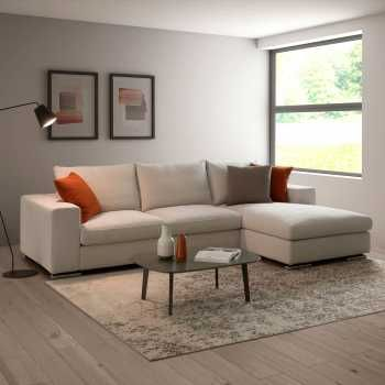 Hyeres Cosy Modern L Shaped Sofa Available In A Wide Range Of Upholstery Covers In 2020 L Shaped Sofa Modern Leather Sofa Modern Home Furniture