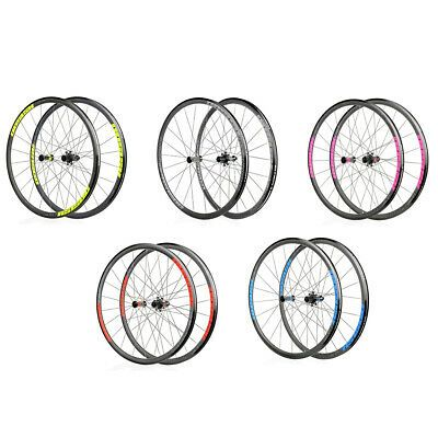 Details About 30mm Straight Pull Road Bike Wheelset Koozer Rs1500