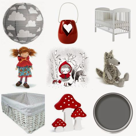 Little red riding hood themed nursery: www.tinyfootsteps.co.uk