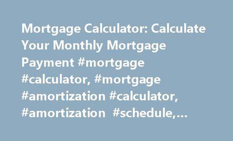 25+ melhores ideias de Mortgage amortization no Pinterest - mortgage amortization spreadsheet