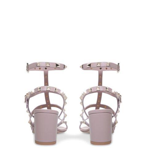 952915a742c7 Valentino Garavani Leather Rockstud Sandals 60  AD