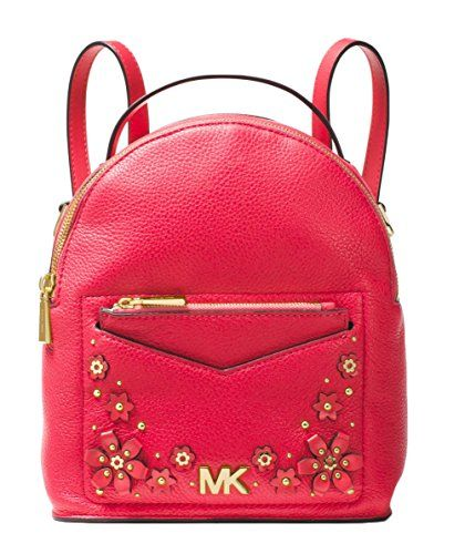 d98aa6849828 New MICHAEL Michael Kors Jessa Small Floral Embellished Pebbled Leather  Convertible Backpack online. [$188] topbrandsclothing Fashion is a popular  style