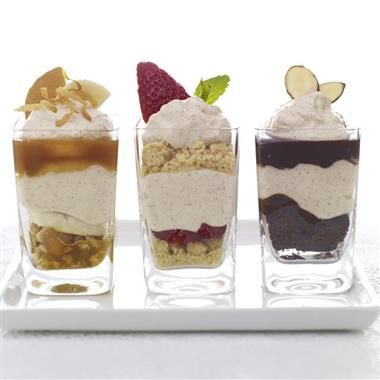 Mix-and-Match Spiced Mousse Minis