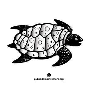 Sea Turtle Vector Clip Art Publicdomain Vectorgraphics Freevectors Illustrator Clipart Freevectors Free Clip Art Art Clip Art