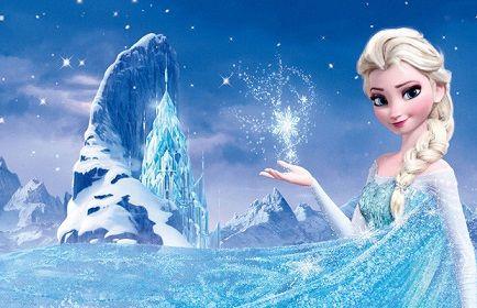 104370 Jpg 434 280 Elsa De Frozen Fundo Congelado Musica Da