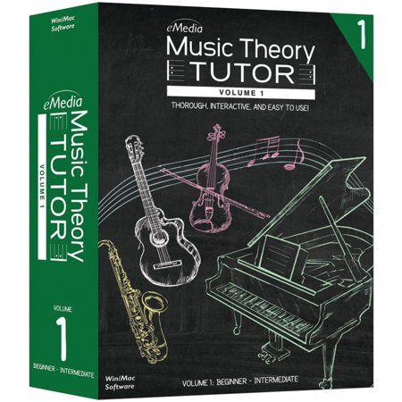Emedia Music Ad02151 Music Theory Tutor Volume 1 Walmart Com In 2020 Music Theory Lessons Music Theory Learn Music Theory