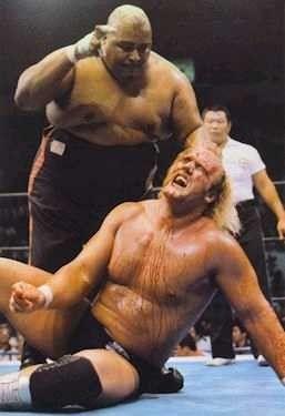 Hulk Hogan Vs Abdullah The Butcher Wrestling Superstars Pro Wrestling Best Wrestlers