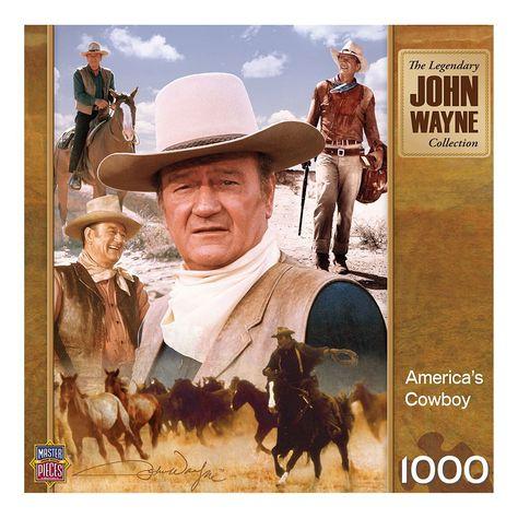 MasterPieces John Wayne: America's Cowboy 1,000-pc. Jigsaw Puzzle, Multicolor