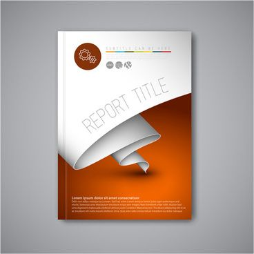 Abstract Brochure Cover Vecto Template  Maths Kcet
