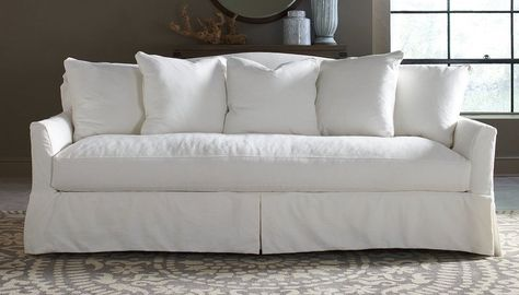 Slipcovered Sofas Are They Worth It Our 5 Best Recommendations Pottery Barn Slipcover Sofa Furniture Slipcovers Sofa