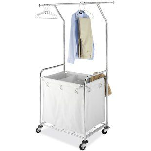 Rolling Laundry Baskets Carts You Ll Love Laundry Center