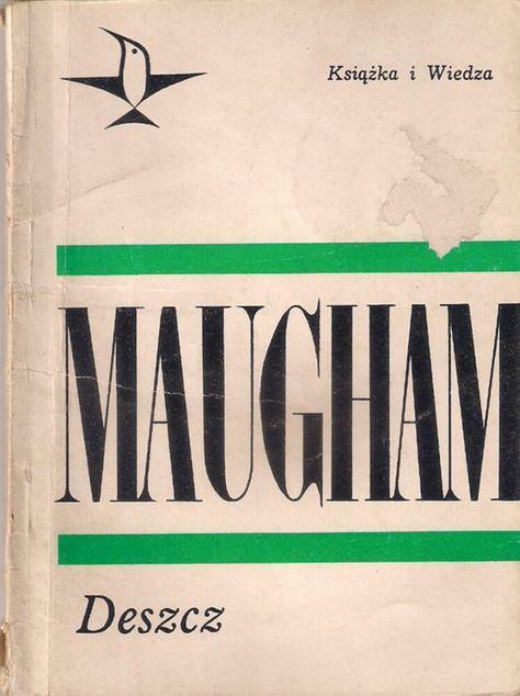 Pin By Antykwariat Gutek Nr1 On Gutek Nr1 Books Somerset Maugham Somerset Books