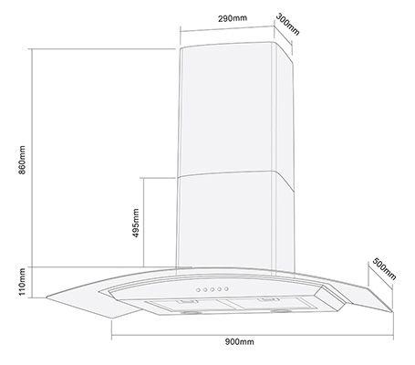 Resultado De Imagen Para Medidas De Extractor De Humo Floor Plans Bathtub Bathroom