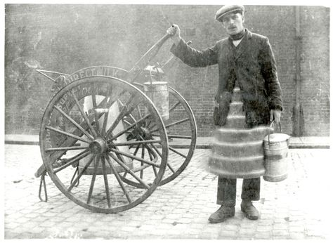 The Milkman; A hard life #Victorian #London #History
