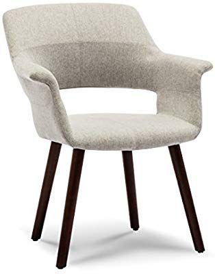 Amazon Com Belleze Mid Century Modern Accent Chair Dining