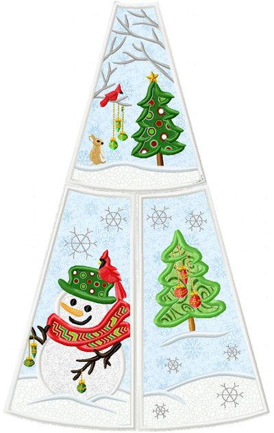 Snowman Christmas Tree Skirt Snowman Christmas Tree Christmas Snowman Christmas Tree Skirt