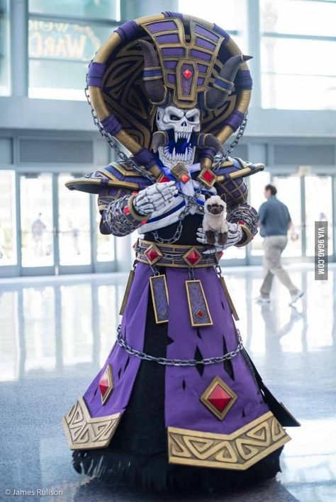 This is what I call cosplay (Kel'thuzad from Warcraft at the Blizzcon 2015)