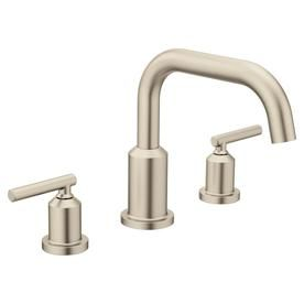 Moen Gibson Two Handle Non Diverter Roman Tub Faucet Brushed