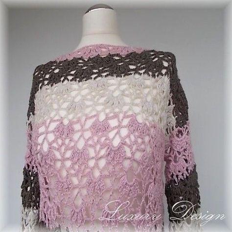 Crochet tunic /// Mini dress with lace pattern- Tunika häkeln /// Minikleid mit Lochmuster  Crochet pattern mini dress / tunic S-XL Luxury Design No.28  -#bodyconDressAccessories #burgundyDressAccessories #DressAccessoriesbodytypes #DressAccessoriesideas #DressAccessoriesjeans #DressAccessoriesjewelry #DressAccessorieslife #shortDressAccessories